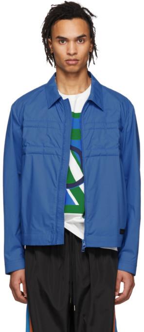 Craig Green Moncler Genius 5 Moncler Blue Down Doodle Jacket