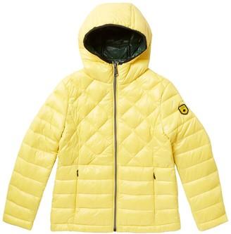 Noize Kerri Light Weight Diamond Puffer Jacket (Big Girls)