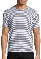 Ovadia & Sons Raw Edge Stripe Tee