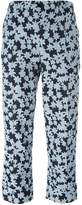 Julien David cropped floral trousers