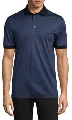Salvatore Ferragamo Short Sleeve Cotton Polo