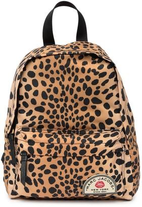 Marc Jacobs Medium Collegiate Nylon Printed Backpack