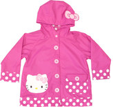 Western Chief Girls' Hello Kitty Cutie Dot Raincoat