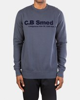 Han Kjobenhavn Crew Neck (Grey | Dark Navy)