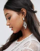 True Decadence Statement Rhinestone Drop Earrings