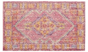 """French Connection Caruso Colorwashed Kilim 24"""" x 36"""" Accent Rug Bedding"""