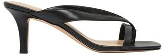 Sandler Madrid Black Glove Sandals