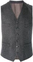 Caruso classic button waistcoat