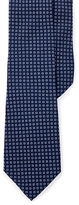 Ralph Lauren Purple Label Circle-Print Silk Narrow Tie