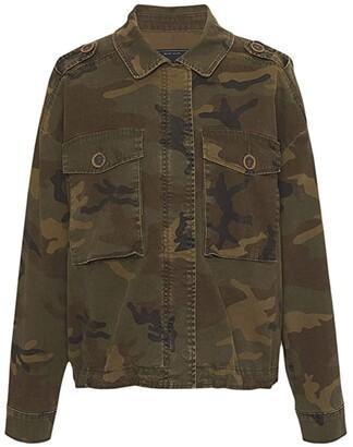Sanctuary Freedom Camo Jacket (Hero Camo) Women's Clothing