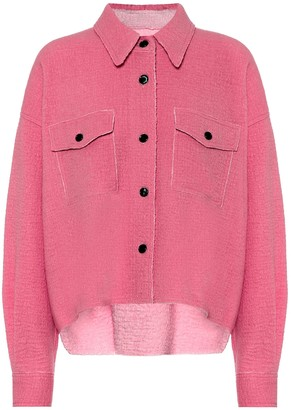 Isabel Marant Dennao wool shirt