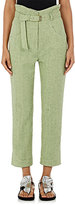 Isabel Marant Women's Evera Belted Crop Jeans
