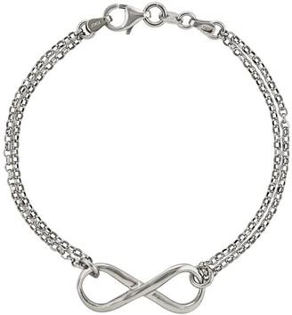 "Silver Style Sterling Silver Infinity Symbol 7-1/2"" Braceletby Silver Styl"