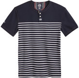 Superdry Men's Top-Stitched Striped Henley