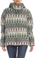 M Missoni Chevron Printed Down Jacket