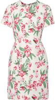 Jonathan Saunders Jodie floral-print twill dress