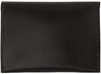 Cherevichkiotvichki Black Double Pocket Wallet