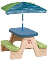 Step2 Step 2 Sit & Play Picnic Table with Umbrella