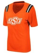 Colosseum Women's Oklahoma State Cowboys Rock Paper Scissors T-Shirt