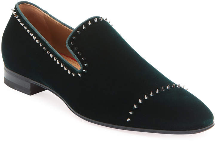 san francisco b1956 a5e89 Men's Dandelion Velvet Mini-Spike Loafer