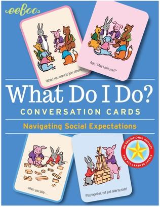 Eeboo What Do I Do Conversation Cards