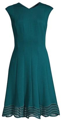 Elie Tahari Heidi A-Line Dress