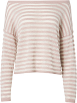 Exclusive for Intermix Gabi Striped Off Shoulder Top Stripe P