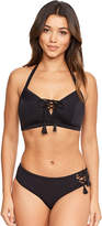 Figleaves Icon Lace Up Soft E-G Bikini Top