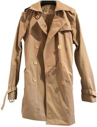 Michael Kors Beige Cotton Trench coats