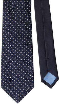 Prada Silk Micro Print Tie