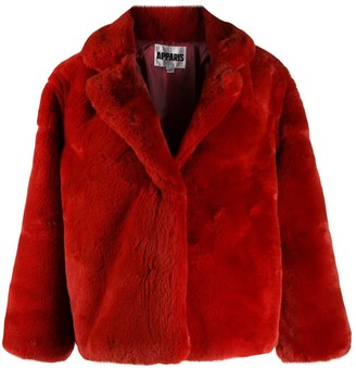 Apparis textured short jacket