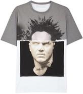 Neil Barrett White Basquiat-print Cotton T-shirt