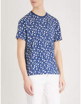 Sandro Floral print cotton T-shirt
