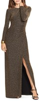Lauren Ralph Lauren Metallic Gown