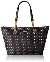 Calvin Klein Nylon Chain Tote Tote Bag
