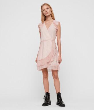 AllSaints Priya Leox Dress