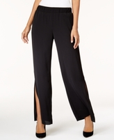 INC International Concepts Petite Side-Slit Wide-Leg Pants, Created for Macy's