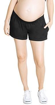 Ingrid & Isabel Elastic-Waist Maternity Shorts