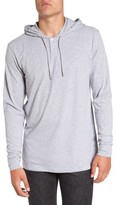 RVCA Men's Pick Up Lightweight Henley Hoodie