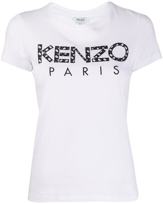 Kenzo embroidered logo short-sleeve T-shirt