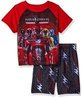 GBG Power Rangers Summer Short Pajamas for boys