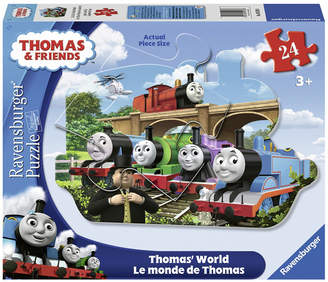 Ravensburger Thomas Friends - Thomas World Shaped Floor Puzzle - 24 Piece