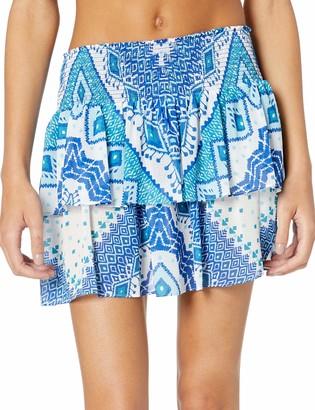 Ramy Brook Women's Printed Sibyl Mini Skirt