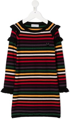 Sonia Rykiel Enfant Striped Knitted Dress