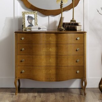 Canora Grey Royce 4 Drawer Dresser