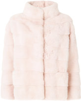 Simonetta Ravizza cropped fur jacket