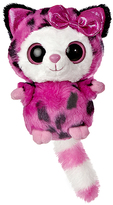 Aurora World Pammee Hot Pink Cheetah Plush Toy