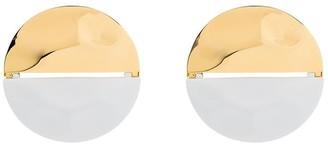 Monica Sordo Peggy Split Circular Earrings