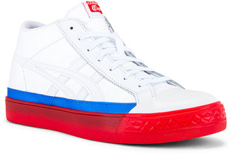 Onitsuka Tiger by Asics Fabre Classic Mt in White & White   FWRD