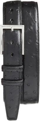 Torino Ostrich Leather Belt